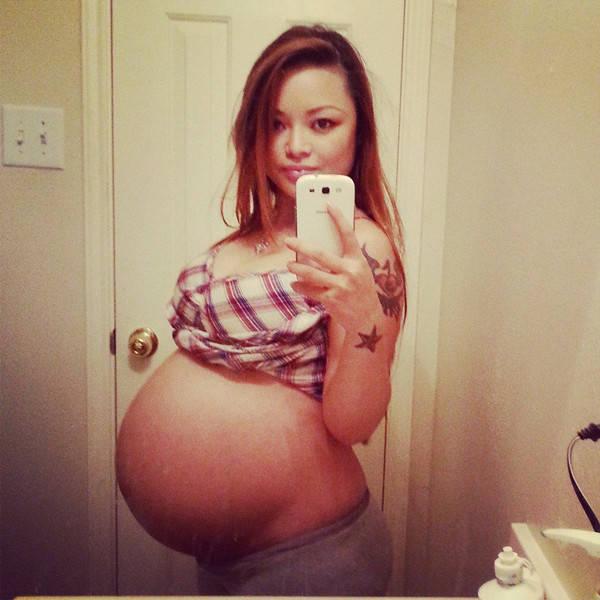 Tila Tequila's Pregnant Photos